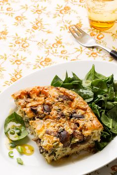 Mushroom and Cheese Frittata - Diet Doctor
