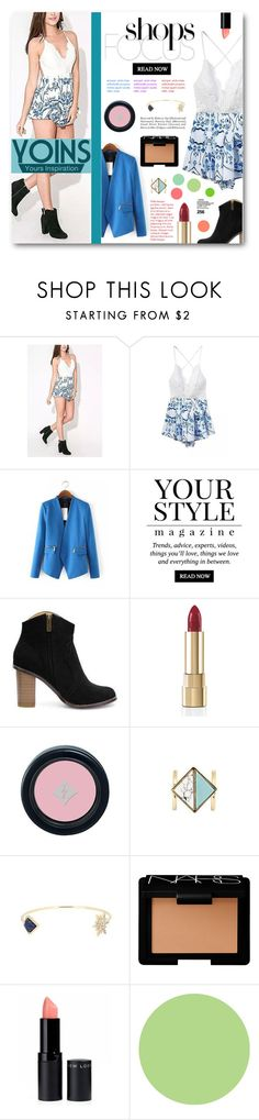 """""""Shop Focus - Yoins"""" by tasnime-ben ❤ liked on Polyvore featuring Pussycat, Dolce&Gabbana, NARS Cosmetics, WallPops and yoins"""