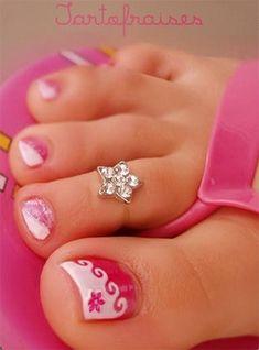 Cool Spring Toe Nail Art Designs, Ideas & Trends 2014 | Fabulous Nail Art Designs