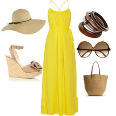 summer wish, created by merara on Polyvore