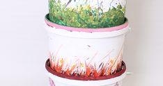 Vermikompostér Planter Pots, Diy, Compost, Bricolage, Do It Yourself, Homemade, Diys, Crafting