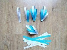 Tutorial aprende cómo hacer 4 adornos navideños de papel