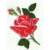 June Rose - June 2002 IEC Machine Embroidery Design Download | Martha Pullen