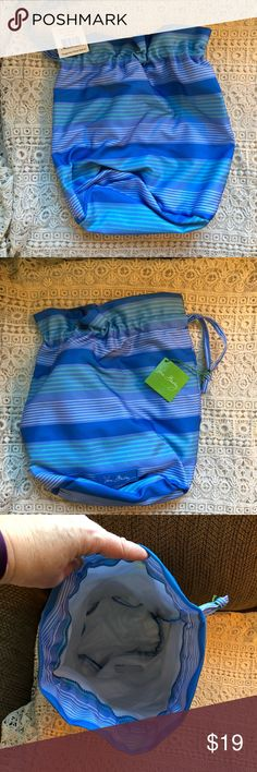 Vera Bradley Ditty bag bikini gym lined pool Great for pool, beach, gym, bikini, cosmetics etc vera bradley Bags Cosmetic Bags & Cases