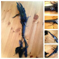 Smudge Wand for Earthstar Chakra. carolsurbey.com