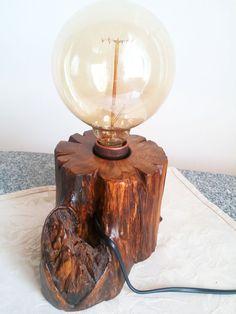 Trunk lamp Wooden lamp Rustic lamp Home Decor lamp Table lamp Desk lamp Vintage Lamp Farmhouse Lamp Rustic Home Decor Rustic Light Tree Lamp Shabby Chic Lamps, Rustic Lamps, Rustic Lighting, Twig Furniture, Farmhouse Lamps, Tree Lamp, Handmade Lamps, Contemporary Floor Lamps, Room Lamp