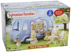 LIGHTNING DEAL LOWEST EVER PRICE Sylvanian Families Fish and Chips Van NOW £17.99