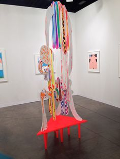 Aaron Curry Artist | My Top 10 Favorite Artists From Art Basel Miami Beach  2013