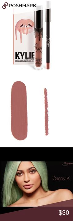 Kylie Cosmetics Lip Kit in Candy K Kylie Cosmetics Lip Kit in Candy K Kylie Cosmetics Makeup Lipstick