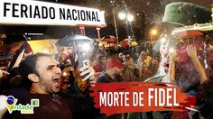 Milhares de CUBANOS vão às ruas comemorar MORTE de FIDEL