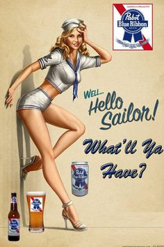 """says """"thank you"""" to our troops like a nice pin up girl!Nothing says """"thank you"""" to our troops like a nice pin up girl! Pin Up Vintage, Retro Pin Up, Vintage Sailor, Retro Vintage, Vintage Girls, Vintage Prints, Vintage Black, Vintage Style, Pinup Art"""