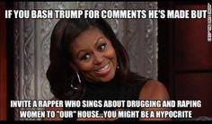 Or you might just be the trashiest excuse for First Lady American has ever had....what a horrid legacy this woman has left.