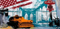 Brooklyn Taxi 120x60 Alu Taxi, Brooklyn, Fair Grounds, Fun, Travel, Pictures, Viajes, Destinations, Traveling