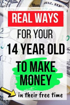 Is your teenager asking you for money all the time? Here's a list of online jobs for 14 year olds to make money. From easy to advanced job opportunities! Online Jobs For Students, Easy Online Jobs, Jobs For Teens, Easy Jobs, Teen Jobs, Make Easy Money, Way To Make Money, Make Money Online, Good Time Management