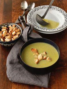 Brokolicový krém Tzatziki, Fondue, Soup, Cheese, Ethnic Recipes, Diet, Soups