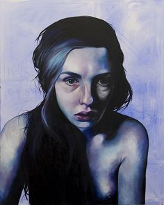 "rfmmsd:  Artist: Daliah Ammar ""Methylphenidate"" Oil on Canvas 48"" x 60"""