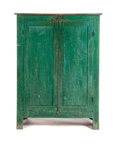 Sea green cupboard