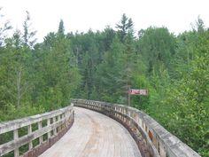 bearskin trail, Minocqua, WI