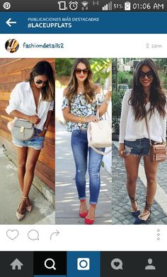 Strappy Flats, Girl Fashion, Capri Pants, Clothes, White People, Women's Work Fashion, Outfits, Capri Trousers, Clothing