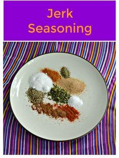It's easy to use ingredients in your cupboard to make homemade Jerk Seasoning. Jerk Seasoning | Homemade Seasoning | DIY Jerk Seasoning | Homemade Spices |