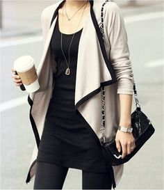 In love with this jacket, unique and chic Ohhhh man...want!