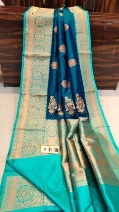 Kanjivaram Sarees Silk, Kota Silk Saree, Bridal Silk Saree, Indian Silk Sarees, Sari, Designer Sarees Wedding, Designer Silk Sarees, Saree Tassels Designs, Saree Blouse Designs