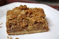 Apple crumble bars -  - more at: http://pinned-recipes.net