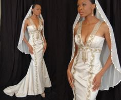 exotic Wedding Dresses | Ethnic inspired wedding gowns by Therez Fleetwood - Sacramento Bridal ...