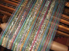 Lovely warp - weaving