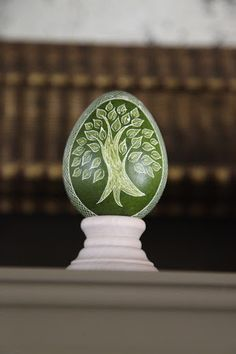 Pysanka egg design