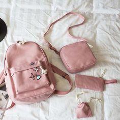 New Korean Casual Women Backpacks Canvas Book Bags Cute Plane Badge Schoolbag For Teenage Girls Composite Bag Mochila Mini Backpack, Leather Backpack, Travel Nursing Companies, Canvas Book Bag, Girls Rucksack, Korean Casual, Clothing Deals, School Backpacks, School Bags