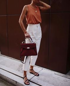 70 The Best Street Style Fashion Ideas Of The Year - Doozy List 70 Die besten Streetstyle-Modeideen des Jahres – Doozy List Mode Outfits, Casual Outfits, Fashion Outfits, Fashion Ideas, Chic Summer Outfits, Chic Summer Style, Fashion Tips, Looks Chic, Looks Style