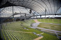 E-bike Tour- Olympic Stadium. Zip line across soccer field, rotating restaurant, climb TV tower great view, sea life park, rooftop climb, walk around the lake, jogging Entrance 3-4 Euro (Combine with BMW Museum which is nearby)