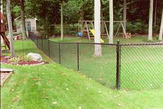 Fence Consultants of West Michigan provides and installs almost every type of maintenence free fence and railing products. Chain Link Fence, Fences, Michigan, Backyard, Decor Ideas, Landscape, Picket Fences, Patio, Chicken Wire