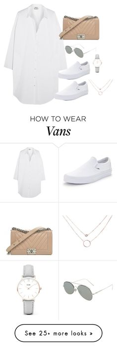 """Untitled #4264"" by magsmccray on Polyvore featuring Acne Studios, Vans, Chanel and CLUSE"