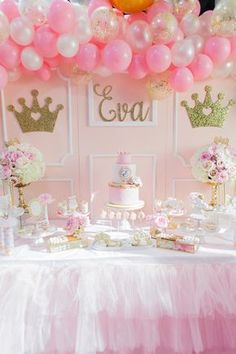 Magical Princess Birthday Party