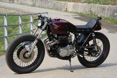 ϟ Hell Kustom ϟ: Honda CB400SS 1975 By AQG