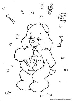 Care Bears Coloring-111