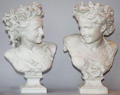 Carpeaux, Baroque Art, Jean Baptiste, White China, Rodin, Art And Architecture, Spring, Flora, Sculptures