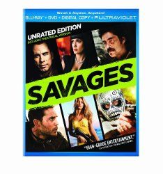 Savages (Two-Disc Combo Pack: Blu-ray + DVD + Digital Copy + UltraViolet)
