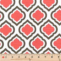 Quatrefoil Fabric made by Premier Prints