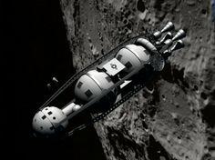 Von Braun/Collier's round-the-moon ship