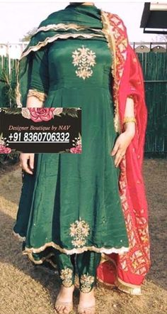 Bridal Suits Punjabi, Punjabi Suits Party Wear, Party Wear Indian Dresses, Pakistani Fashion Party Wear, Designer Party Wear Dresses, Kurti Designs Party Wear, Dress Indian Style, Indian Designer Outfits, Punjabi Suit Neck Designs