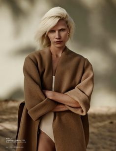 Vogue Holland July 2014 | Aline Weber by Annemarieke Van Drimmelen