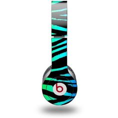 Amazon.com: Rainbow Zebra Decal Style Skin (fits Beats Solo HD Headphones): Everything Else