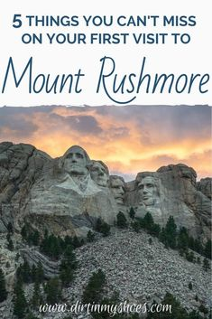 There are so many great things to do in Mount Rushmore! Camping, hiking, and wildlife spotting are some of my favorite things to do in the park. If you are planning a vacation, check out my favorite things to see and do on this list of things you can't miss on your next trip to Mount Rushmore National Memorial.