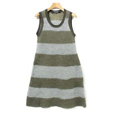 JUNYA WATANABE dress khaki x gray (border) Size S cool Comme des Garcons F/S