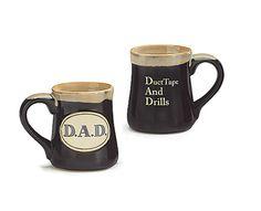 DAD Duct Tape And Drills Acronym 18 Oz Coffee Mug Fathers Day Gift burton+BURTON #burtonBURTON