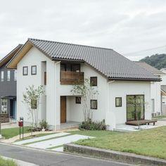Minimal House Design, Minimal Home, Small House Design, H Design, Facade Design, Architecture Design, Japan House Design, Japanese Modern House, H & M Home