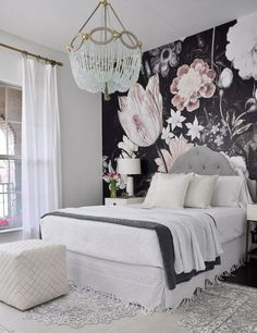 Cool 30 Spring Bedroom Decor Ideas With Floral Theme